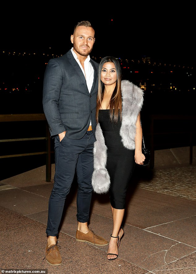 Still going strong! Married At First Sight's Cyrell Paule and fiance Eden Dally cuddled up as they attended the first COVID-19 red carpet premiere on Thursday night for the billion dollar blockbuster Tenet