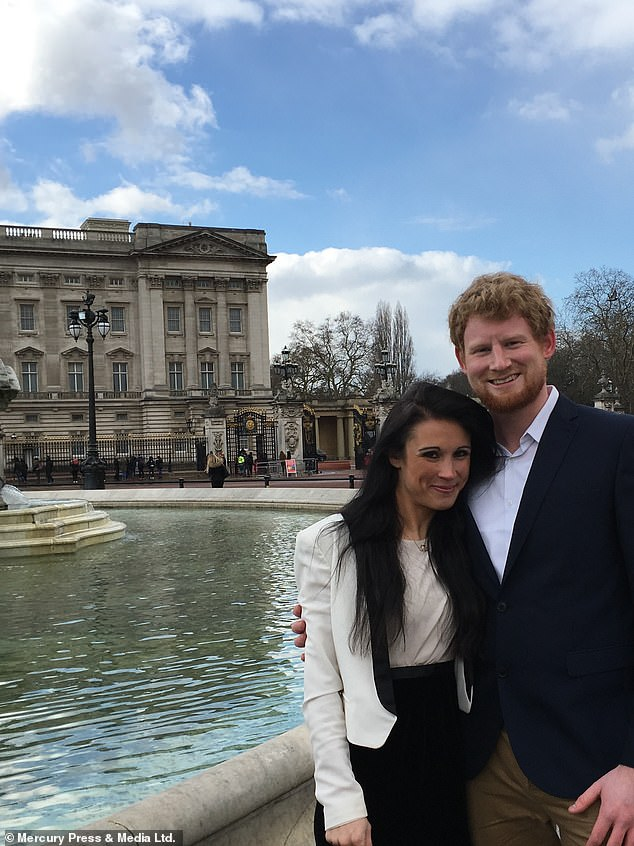 Harry and Meghan look like Henry Morley and Sarah Mhlanga outside Buckingham Palace