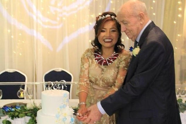 Ms Kumkuang was Mr Harrison's former carer and housekeeper until they married in 2018
