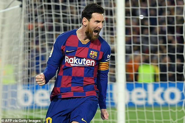 Experts say Messi will be going from £500,000-a-week in basic salary to £300,000-a-week