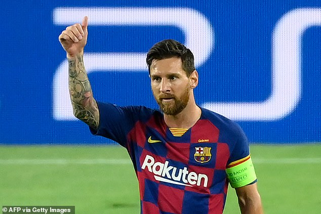 Messi's exclusive image rights may likely double his basic salary to around £600,000-a-week