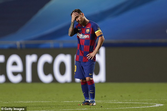 Messi caused a sensation in Barcelona this week that he wanted to leave the club this summer