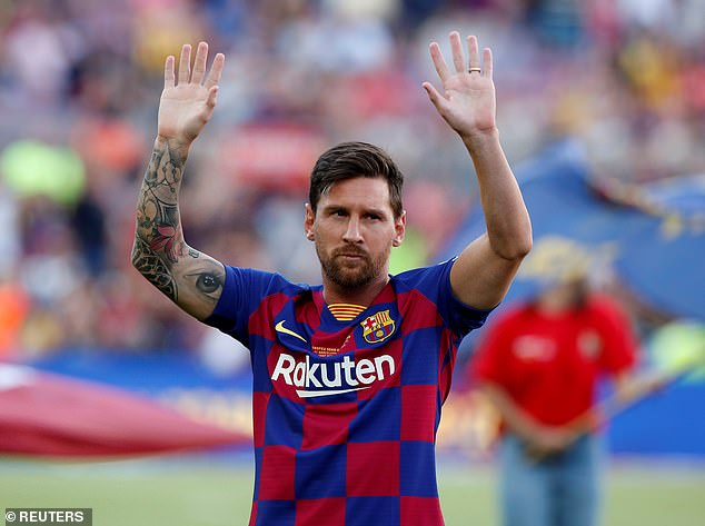 Lionel Messi is on the verge of leaving Barcelona this summer and could join Manchester City