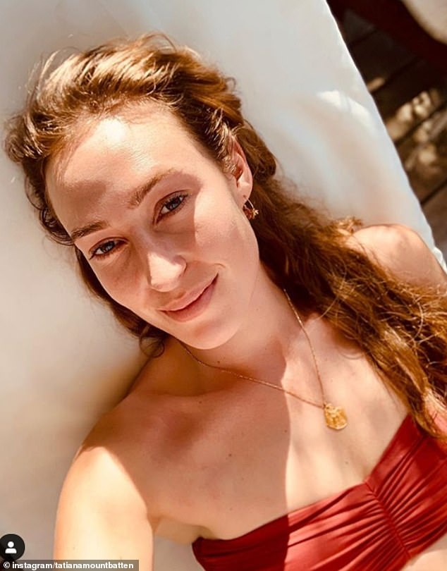 The Queen's cousin Lady Tatiana Mountbatten, 29, has shared a glimpse into a glamorous girl's holiday in Corfu