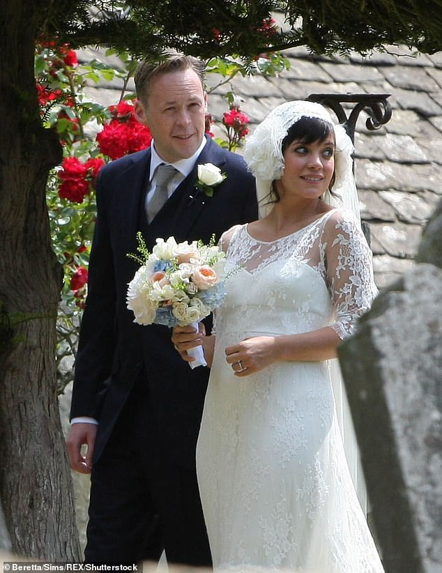 The way they were: They married in an idyllic ceremony in Gloucestershire in 2011, before confirming their split in 2016