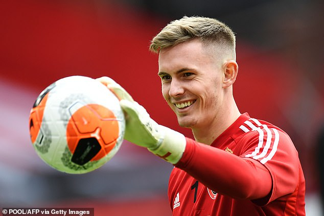 England's Gareth Southgate supported Dean Henderson's decision to leave Sheffield United