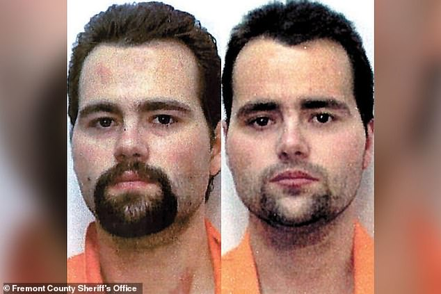 Genetic links: The idea of genetics playing a role in criminality is explored in hayu series The Killer Siblings, which tells the story of identical twin murderers the Stovall brothers (pictured)