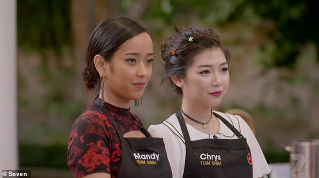Reviews: Others found it a tad boring however, while others labelled it 'cringe'. Pictured: Team China'sMandy and Chrys