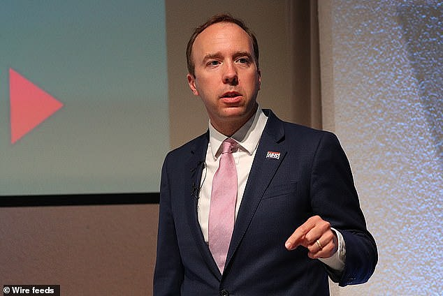 It comes after Health Secretary Matt Hancock warned nationwide restrictions could not be ruled out if England saw a spike in coronavirus cases this winter