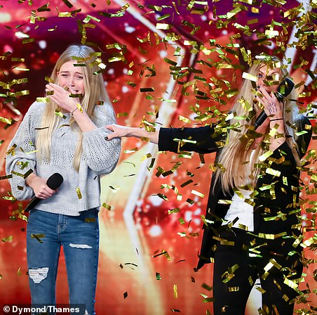 Honey and Sammy: A mother/daughter singing duo from Essex. They were selected by Amanda