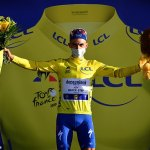 Britain's Adam Yates pipped by winner Julian Alaphilippe at stage two of the Tour de France
