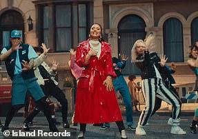 Inspirational: Demi Lovato in the video for I Love Me