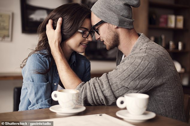 A third added: 'Yes. It's very important. You can tell more about a person from that first kiss than you can from 2 hours of conversation' (stock image)