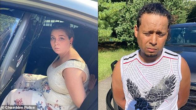 Married couple Maynor Dario Valera Zuniga and Kristin Nicole Valera Zuniga were detained and booked into the DeKalb County Jail on Saturday