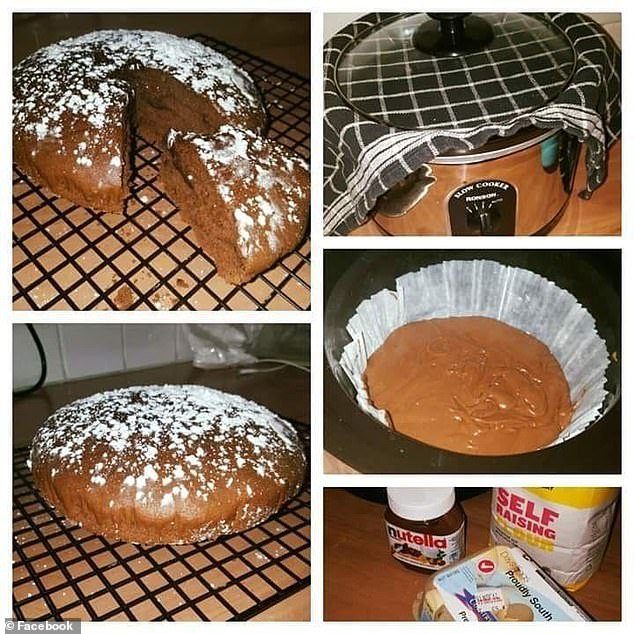 Earlier this month another home cook revealed how to make a similar three-ingredient Nutella cake