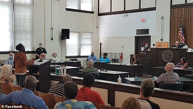 A special Quorum Court meeting was held Friday morning at the Arkansas County Courthouse to discuss Wright's behavior and present a resolution requesting his resignation