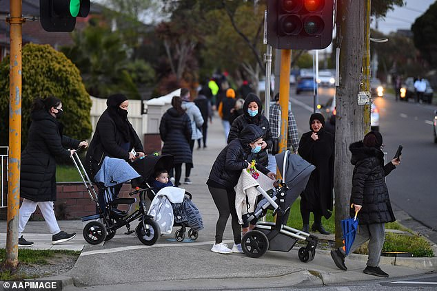Melbourne is in Stage 4 lockdown while the rest of Victoria is in Stage 3 as the battle to control the state's second deadly wave of new infections continues