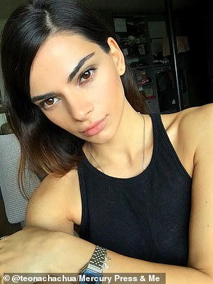 As well as Kendall Jenner, Teona (pictured), who works as a sales rep, has been compared to other stunners such as model, Emily Ratajkowski and actress, Sandra Bullock