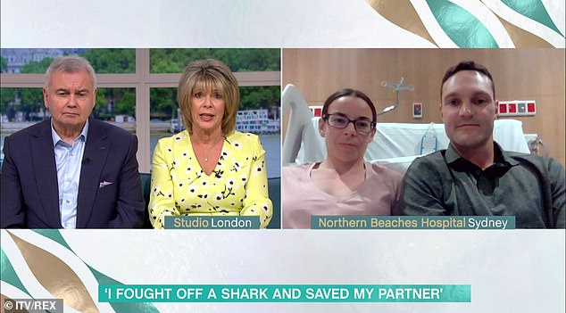 Chantelle told hosts Ruth Langsford and Eammon Holmesit'll be 300-400 days before her nerves regrow