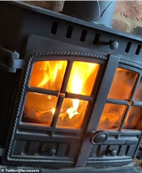 Brits across the country have been lighting fires in their homes as they try to battle the temperatures which are set to plunge to as low as 11C in some areas