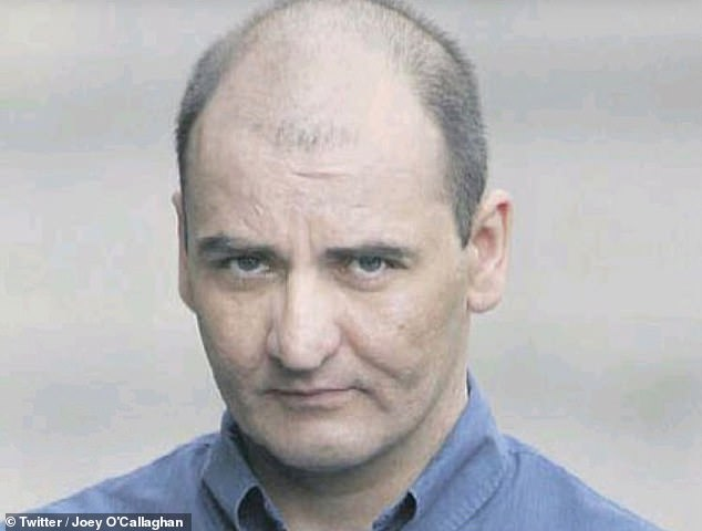 Joey described his former boss Brian Kenny, pictured, as being ' like Jekyll and Hyde' - telling him he loved him like a son one minute and 'beating the s***' out of him and 'abusing' him the next