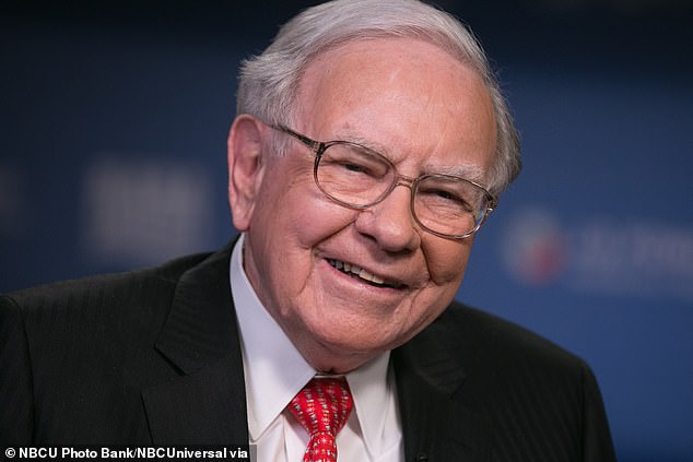 Buffett (pictured): 'Make some good friends, keep them for the rest of your life, but have them be people that you admire as well as like'