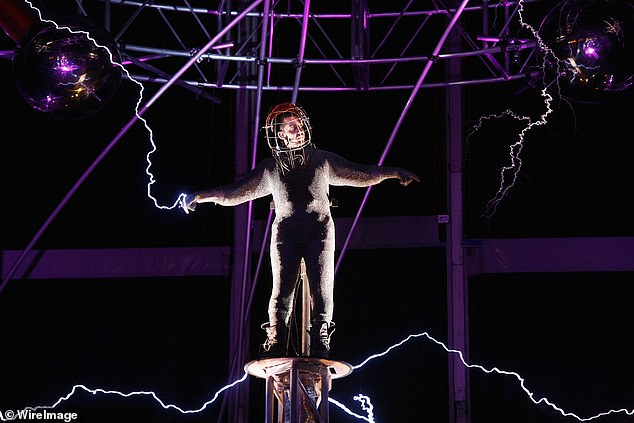 'Ascension' is his first live-broadcast stunt since 2012, when he spent 72 hours standing on a pillar in New York City while being hit with one million volts of electricity