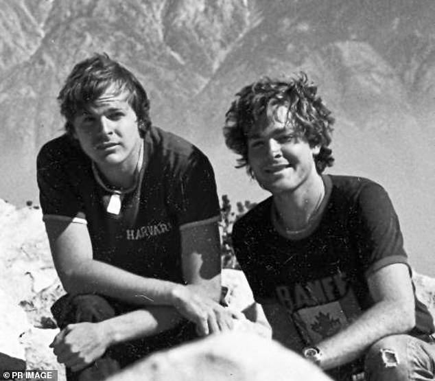 Scott Johnson (left), a Sydney-based American national, was found at the base of a cliff at Blue Fish Point, near Manly's North Head, on December 10, 1988. His brother Steve (right) spent decades fighting for justice