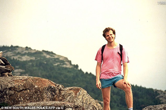 Scott's body was found naked at the base of the cliff, while his clothes were folded neatly at the top