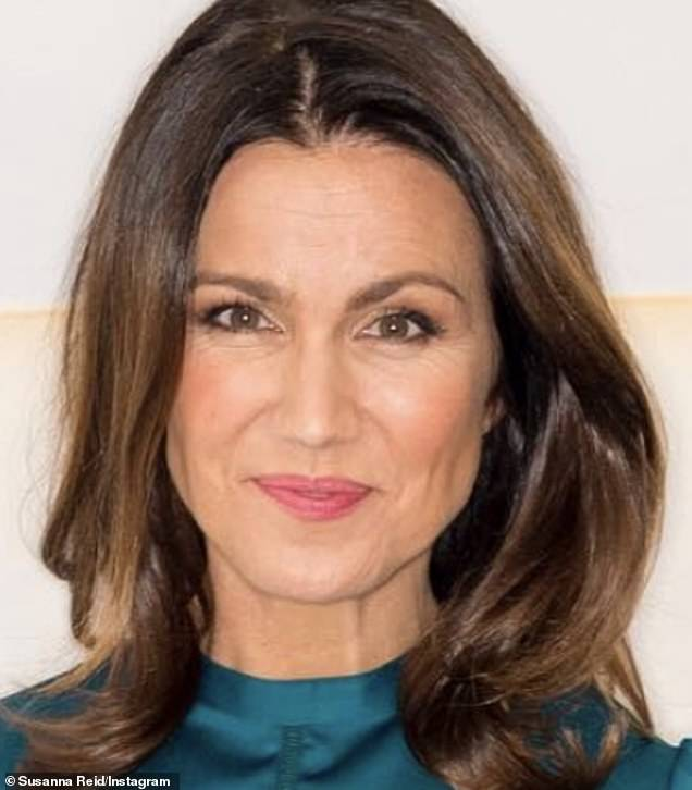 Rested: With her co-host Piers Morgan, she's been off TV screens since July, enjoying a well-deserved rest