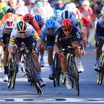 Caleb Ewan outsmarts Sam Bennett to win Tour de France stage three as Alaphilippe retains lead