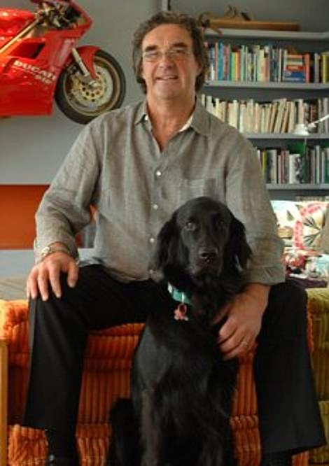 The home featured on Grand Designs and told the epic story of how milkman-turned-builder and now artist Barry Surtees, pictured, struggled to create his contemporary dream house, suffering a heart attack resulting in five heart bypasses