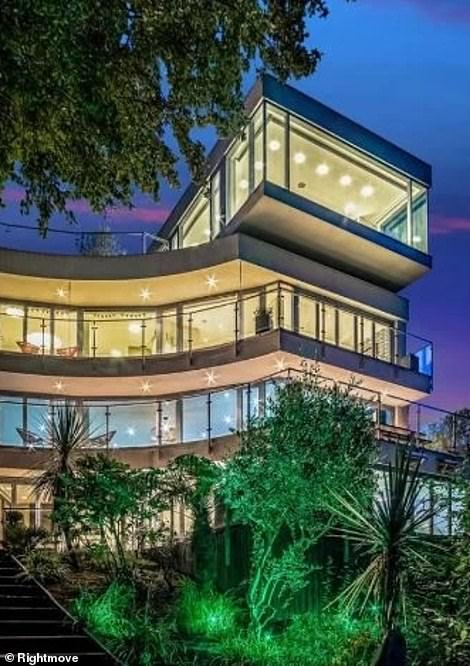 Mr Surtees sold his breathtaking modern mansion after three years totry and recoup some of the costs incurred during the building of the property