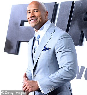 On this year's list Dwayne Johnson was the top paid actor raking in $87.5million. He took the number 10 spot on the Celebrity 100 list