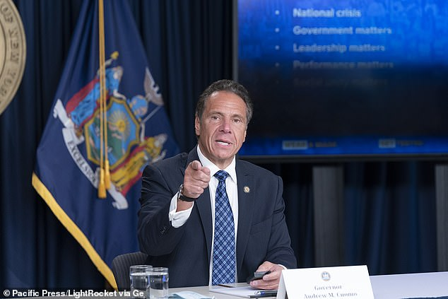 Andrew Cuomo has sent a 'COVID SWAT team' to SUNY Oneonta to deal with the outbreak