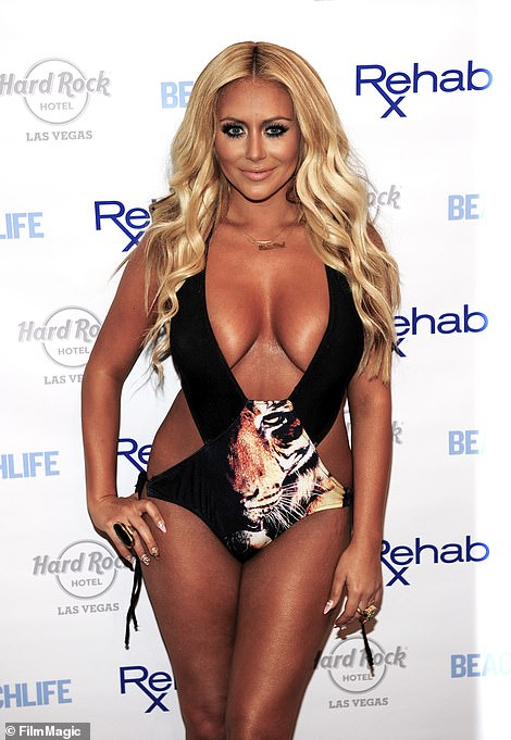 Making an impact: The singer and reality star got herself known for her daring red carpet looks, like this look from 2012 in Las Vegas
