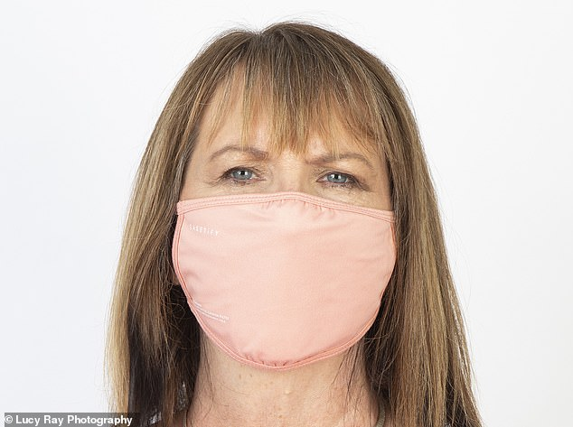 The five-layer filters are said to protect the wearer from pollen and pollution, but also claim to provide more protection for others if the wearer is infected