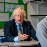 Boris Johnson will say today that re-opening schools will help get Britain back to normal