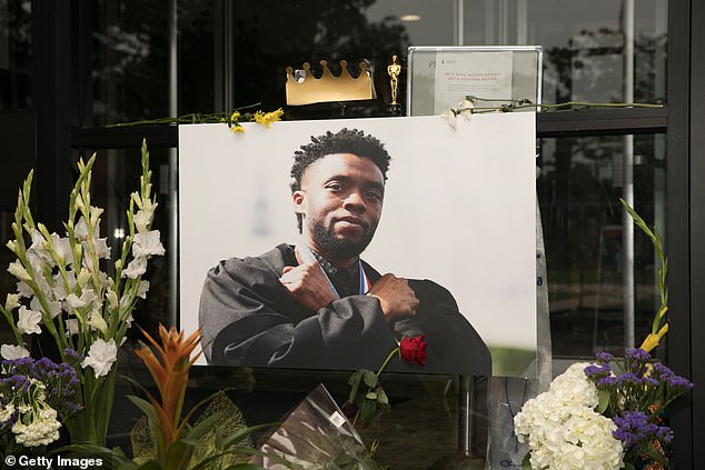Beloved: A memorial was made of the actor at Howard University on Monday in Washington DC, where he was a former