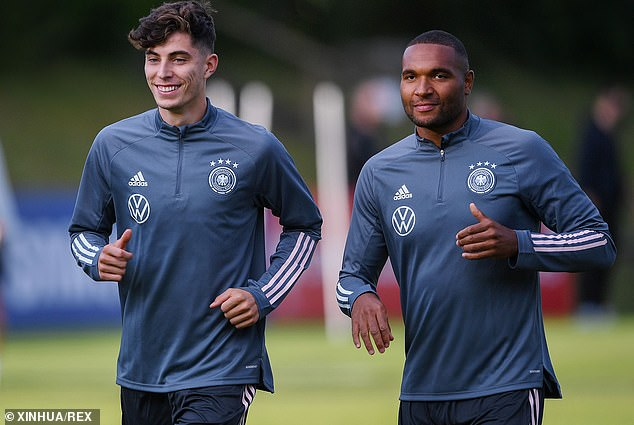 The midfield starlet (left) has been heavily linked with a move to Stamford Bridge this summer