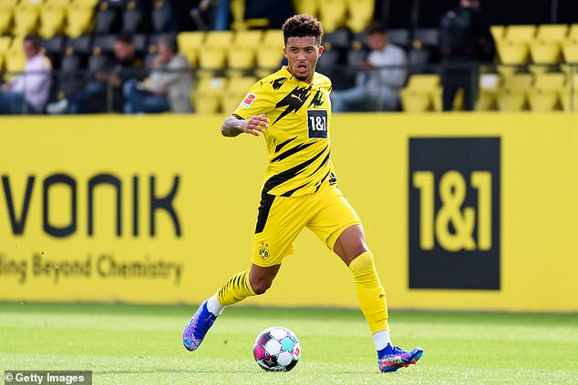 Manchester United don't want to give up on Jadon Sancho's chase until he comments on the future