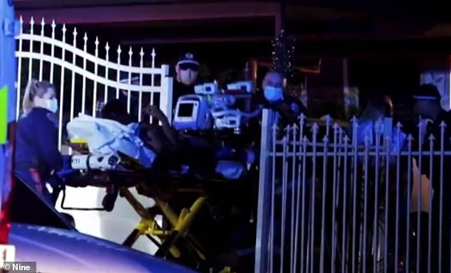 Mark Shammo was shot in the legs and torso on Garrong Road in Lakemba on September 1