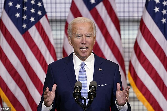 Joe Biden will travel to Kenosha, Wisconsin on Thursday for a