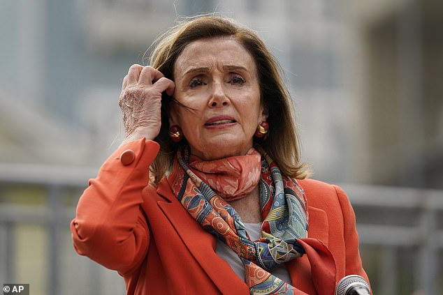 Speaker Nancy Pelosi said she fell for a 'set up' by the salon where she had her hair done