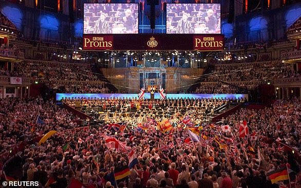 Pictured: The BBC Symphony Orchestra performs at the last night of the BBC Proms festival of classical music at the Royal Albert Hall in London, September 12, 2015