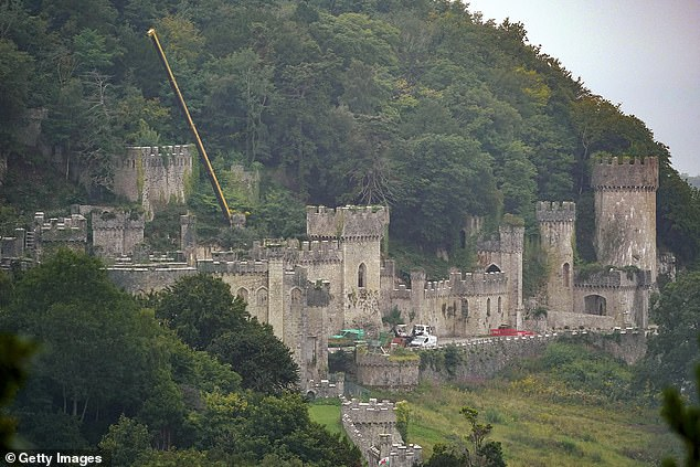 Queen of the castle? The 2020 season will take place in a ruined Welsh castle in the middle of November - making conditions even tougher for those taking part