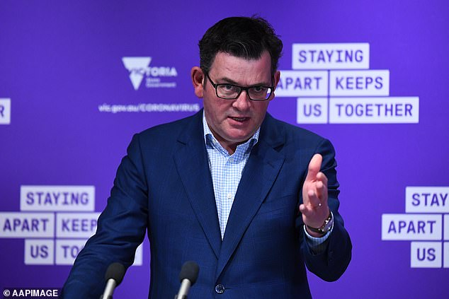 Victorian Premier Daniel Andrews has been labelled atotalitarian despot by large sections of the Victorian community fed-up with his imprisonment of the state