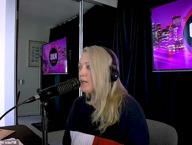 When live radio goes terribly wrong: KIIS FM's Kyle Sandilands and Jackie 'O' Henderson (pictured) were left speechless on Thursday after a listener named Ahmed tried to win back his ex-wife Sally