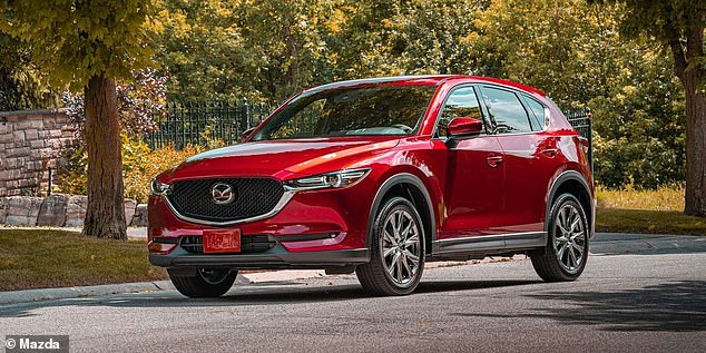 SUVs from Mazda were the only other cars in the top ten to enjoy a sales increase with the CX-5 surging into third spot with a 4.8 per cent rise