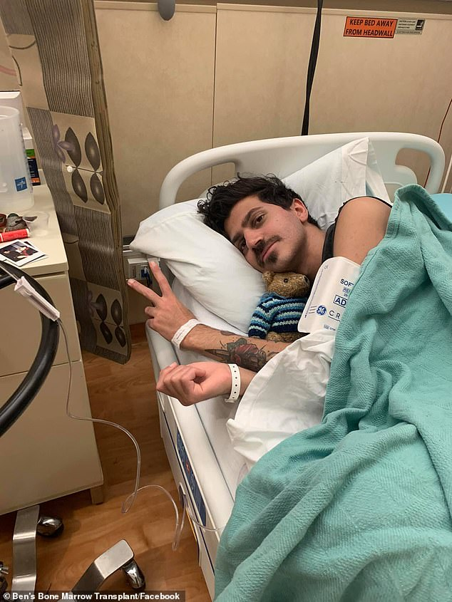 Ben Stylo (pictured in hospital) died surrounded by wires in the intensive care unit at The Alfred Hospital in Melbourne early on Wednesday morning